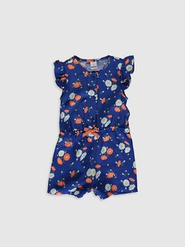 NAVY - Baby Girl's Printed Jumpsuit