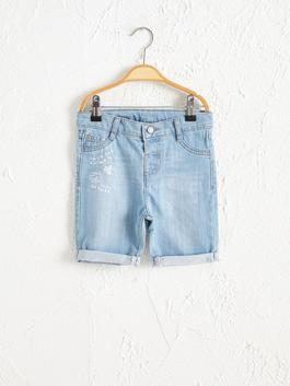 INDIGO - Baby Boy Organic Cotton Jean Shorts