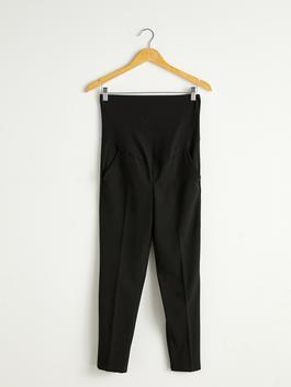 BLACK - Maternity Cigarette Trousers