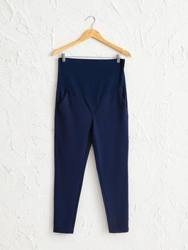 NAVY - Maternity Cigarette Trousers