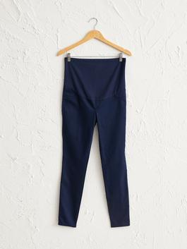 NAVY - Skinny Maternity Trousers