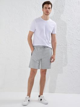 GREY - Slim Fit Sport Shorts