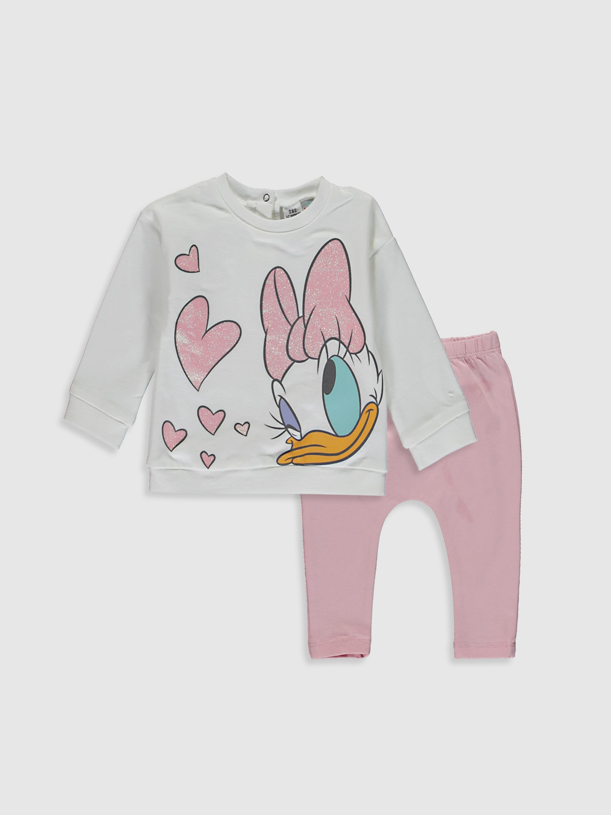 ECRU - Baby Girl's Sweatshirt and Trousers - 0W8129Z1