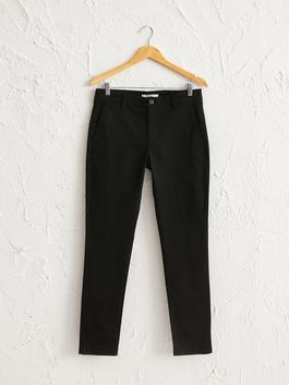 BLACK - Extra Slim Fit Chino Trousers