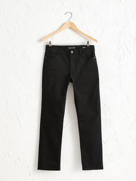 BLACK - Boot Cut Jeans