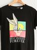 BLACK - Cotton Maternity T-Shirt with Looney Tunes Characters Printed - 0WDV89Z8