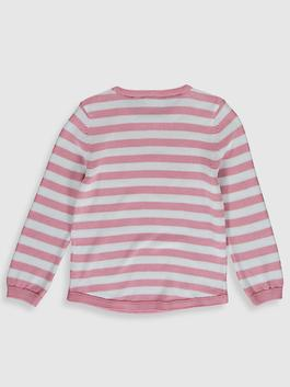 PINK - Girl's Double-Sided Sequin Lightweight Tricot Jumper - 0W5076Z4