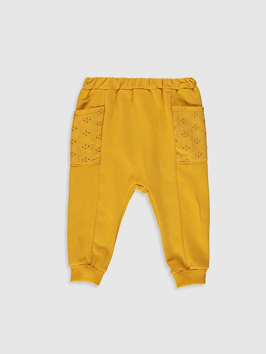 YELLOW - 2-pack Baby Girl's Trousers - 0W8004Z1