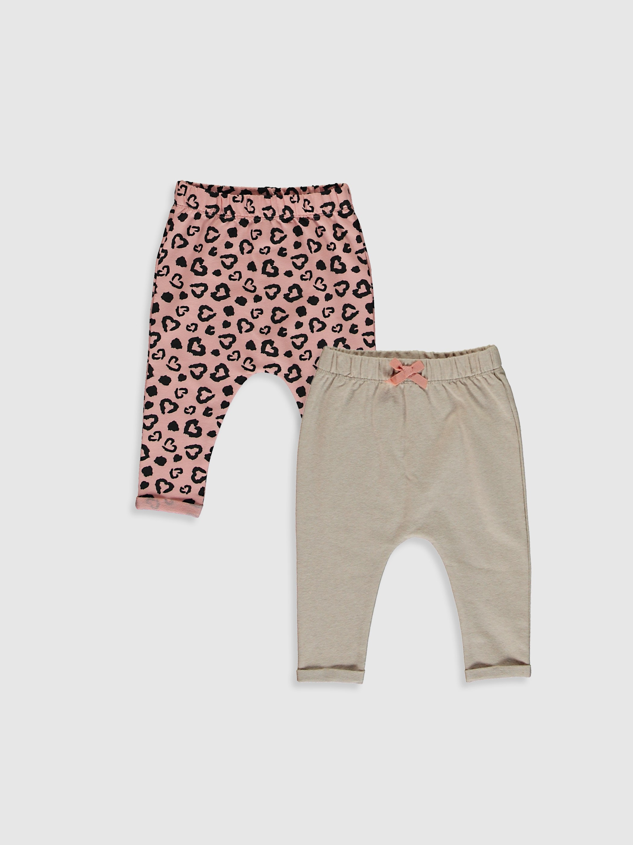 PINK - 2-pack Baby Girl's Bottoms - 0W8717Z1