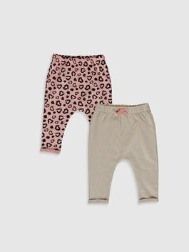 PINK - 2-pack Baby Girl's Bottoms