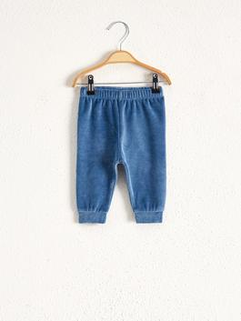INDIGO - Baby Boy Velvet Pajamas Bottom