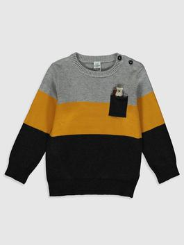 ANTHRACITE - Baby Boy's Tricot Jumper