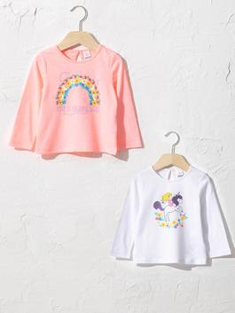 PINK - 2-pack Baby Girl's T-Shirt
