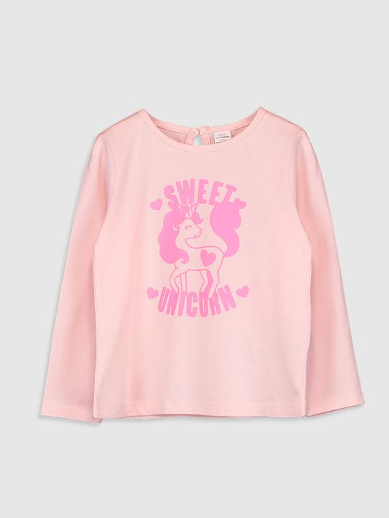 PINK - Baby Girl's Printed T-Shirt - 0W4112Z1