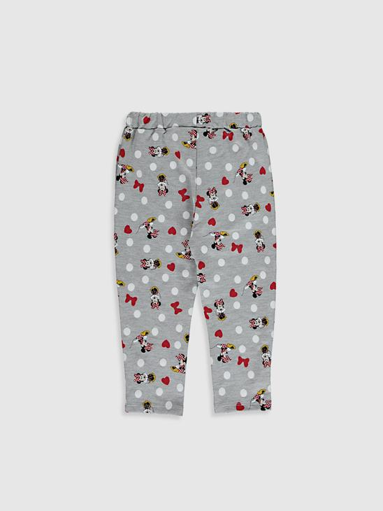 GREY - Baby Girl Minnie Mouse Printed Trousers - 0WAH78Z1