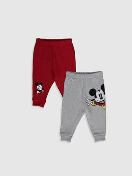 GREY - 2-pack Baby Boy's Mickey Mouse Printed Sweatpants
