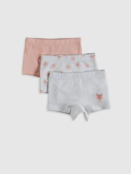 PINK - 3-pack Baby Girl's Boxers