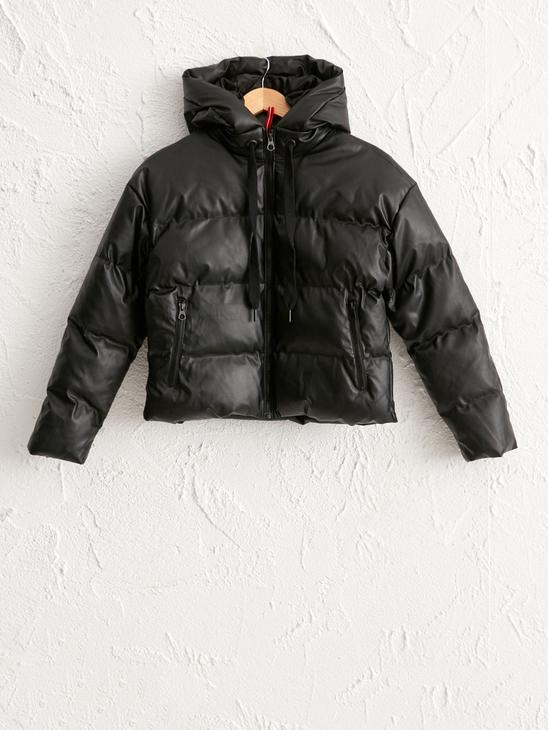 BLACK - XSIDE Heavy Bomber Coat with Hood - 0WCQ66Z8
