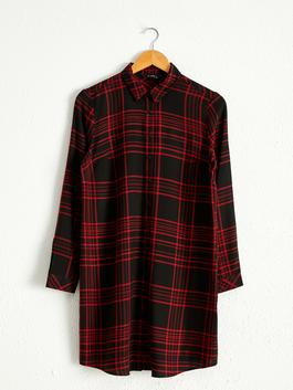 BLACK - Chequered Tunic