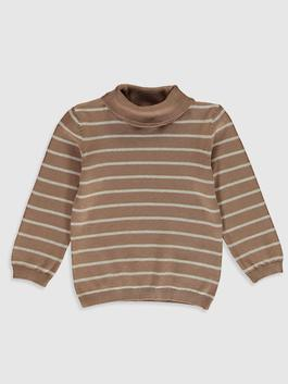 BROWN - Baby Boy's Basic Tricot Jumper