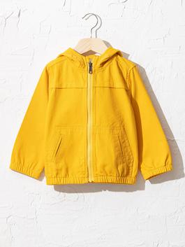 YELLOW - Baby Boy's Short Coat