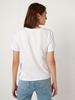 WHITE - Printed Cotton T-Shirt - 0WAP95Z8