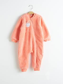 CORAL - Baby Girl Sleeping Bag (with booties between 0-12 months)