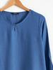 NAVY - Blouse made of Textured Fabric - 0WDI49Z8