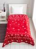 MIX - Christmas Themed Self-Patterned Single Blanket - 0WCP23Z8