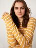 YELLOW - Striped Long Sleeve T-Shirt - 0WDR04Z8
