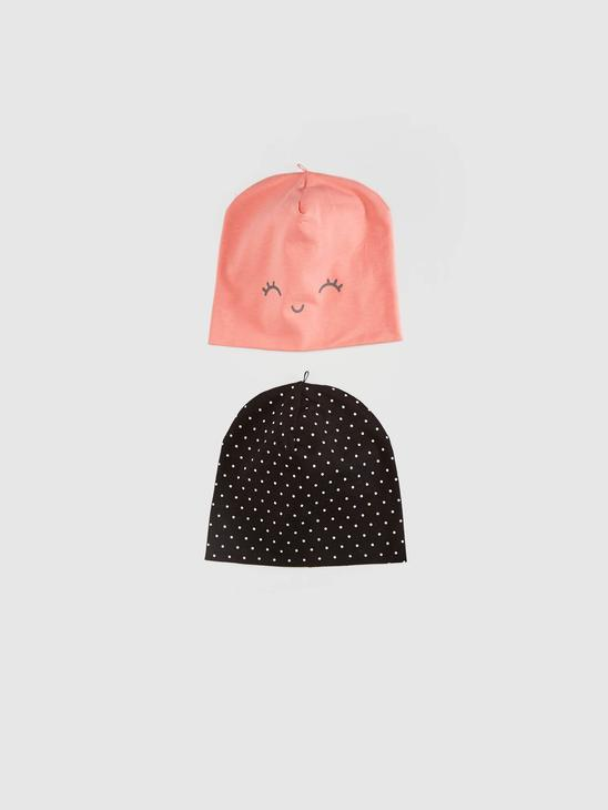PINK - 2-pack Baby Girl's Beret - 0WFM00Z1
