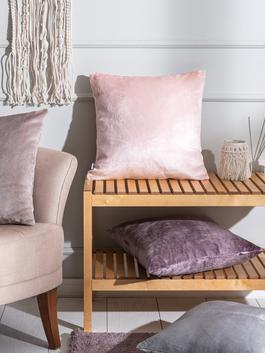 PINK - Padded Throw Pillow