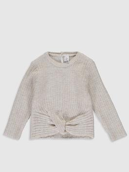 BEIGE - Baby Girl's Tricot Jumper