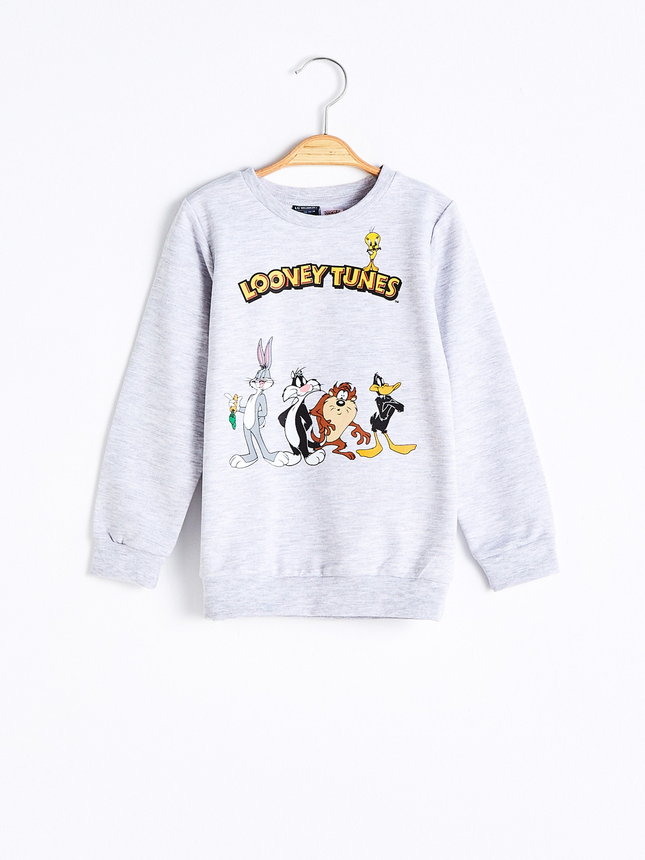 GREY - Boy's Looney Tunes Sweatshirt - 0WHO48Z4