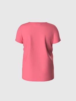 PINK - Girl's Printed Cotton T-Shirt - 0S6246Z4