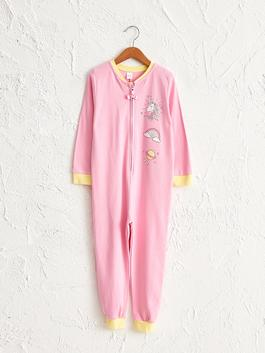 PINK - Girl's Printed Jumpsuit