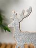 MIX - Christmas Themed Wooden Deer Decoration Item - 0WG706Z8