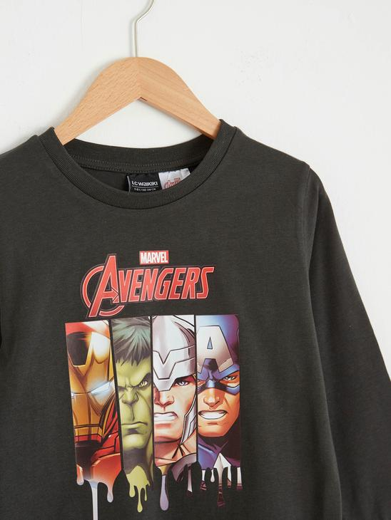 ANTHRACITE - Boy's Avengers Printed T-Shirt - 0WHM99Z4