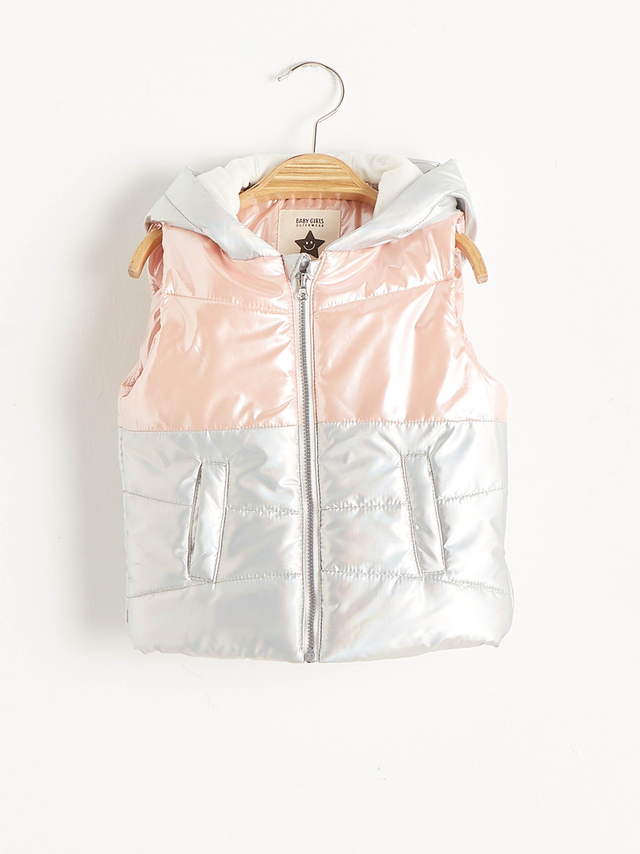 PINK - Baby Girl's Zip- Down Vest - S10934Z1