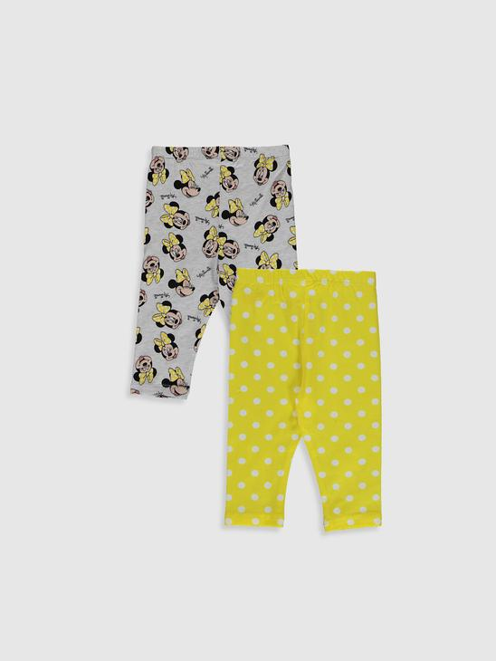 YELLOW - 2-pack Baby Girl's Leggings - 0WCL60Z1