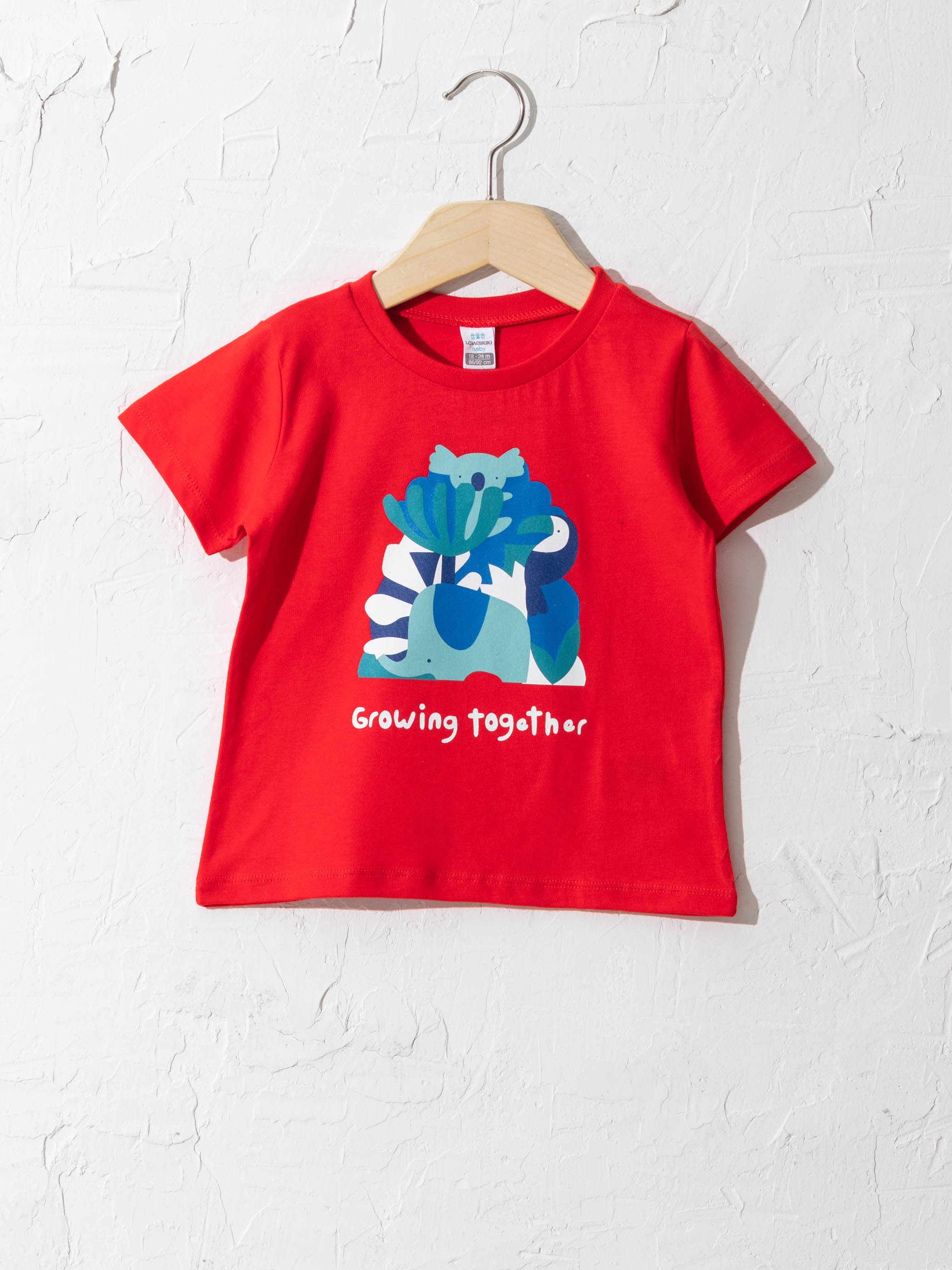 RED - Baby Boy's Cotton T-Shirt - S1BP87Z1