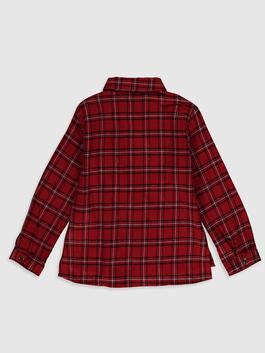RED - Girl's Chequered Shirt - 0W9532Z4