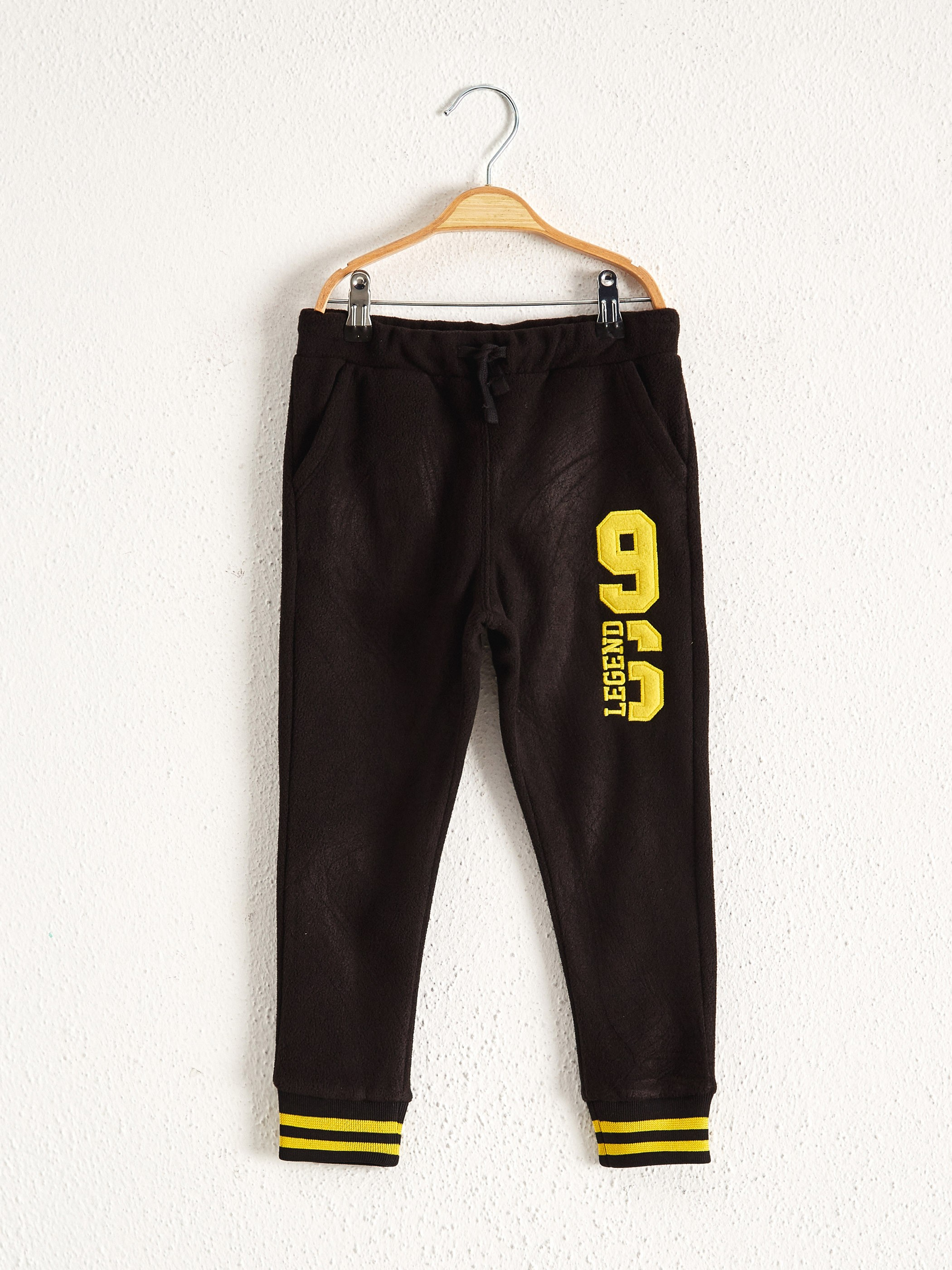 BLACK - Boy's Polar Jogger Sweatpants - 0WBA65Z4