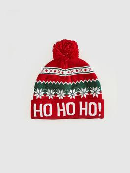 RED - Christmas Themed Knitwear Beanie