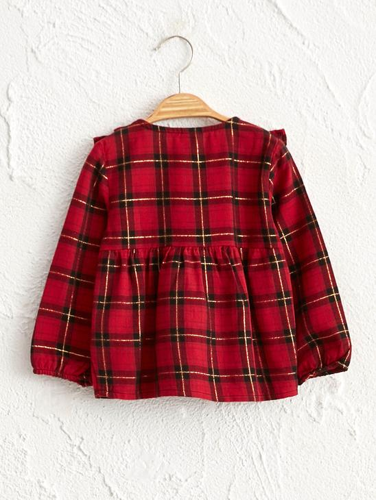 RED - Baby Girl's Chequered Shirt - 0WBN61Z1