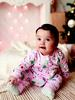 PINK - Baby Girl Christmas Themed Jumpsuit - 0W7895Z1