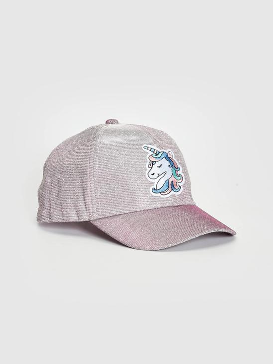 PINK - Girl's Printed Hat - S13830Z4