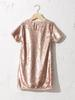 YELLOW - Girl's Double-Sided Sequin Dress - 0WDD58Z4