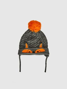 ANTHRACITE - Baby Boy's Tricot Beret