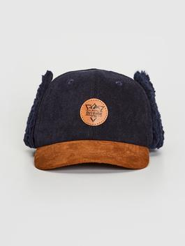 NAVY - Boy's Hat with Earflaps